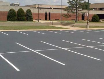 Parking Lot Paving Williamsburg VA